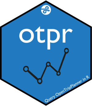 otpr - R package to query the OpenTripPlanner API