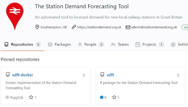 The Station Demand Forecasting Tool